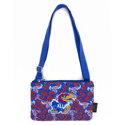 Eagles Wings Kansas Jayhawks Quilted Cotton Cross Body Purse