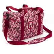 Eagles Wings Oklahoma Sooners Quilted Cotton Cross Body Wallet