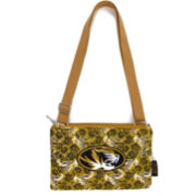 Eagles Wings Missouri Tigers Quilted Cotton Cross Body Purse