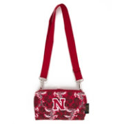 Eagles Wings Nebraska Cornhuskers Quilted Cotton Cross Body Wallet