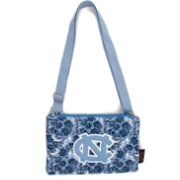 Eagles Wings North Carolina Tar Heels Quilted Cotton Cross Body Purse