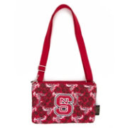 Eagles Wings NC State Wolfpack Quilted Cotton Cross Body Purse