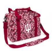 Eagles Wings Indiana Hoosiers Quilted Cotton Mini Duffle Bag