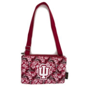 Eagles Wings Indiana Hoosiers Quilted Cotton Cross Body Purse