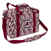Eagles Wings South Carolina Gamecocks Quilted Cotton Mini Duffle Bag