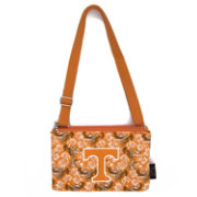 Eagles Wings Tennessee Volunteers Quilted Cotton Cross Body Purse