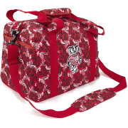 Eagles Wings Wisconsin Badgers Quilted Cotton Mini Duffle Bag