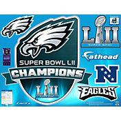 Fathead Super Bowl LII Champions Philadelphia Eagles Real Big Logo Decal