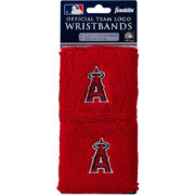 Franklin Los Angeles Angels Embroidered Wristbands