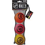 Franklin NHL Multi-Density Street Hockey Ball Pack - 3 Pack