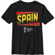 Fifth Sun Men's 2018 FIFA World Cup Spain Slanted Black T-Shirt