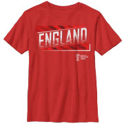 Fifth Sun Youth 2018 FIFA World Cup England Slanted Red T-Shirt