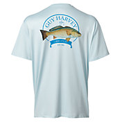 Guy Harvey Men's Big Red One Short Sleeve Performance T-Shirt