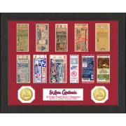 Highland Mint St. Louis Cardinals World Series Ticket Collection