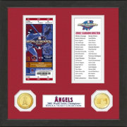 Highland Mint Los Angeles Angels World Series Ticket Collection