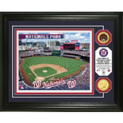Highland Mint Washington Nationals Dirt Coin Photo Mint