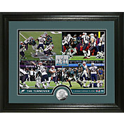 """Highland Mint Super Bowl LII Champions Philadelphia Eagles """"The Turnover"""" Silver Coin Photo Mint"""