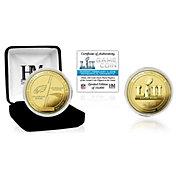 Highland Mint Super Bowl LII Dueling Gold Flip Coin