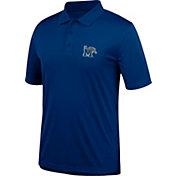 J. America Men's Memphis Tigers Blue Spector Polo