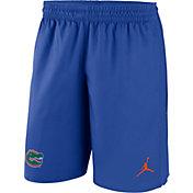 Jordan Men's Florida Gators Blue Fly Knit Football Shorts