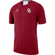 Jordan Men's Oklahoma Sooners Crimson Alpha Dri-FIT T-Shirt