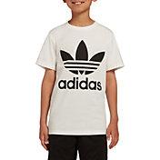 adidas Originals Boys' Trefoil Tee