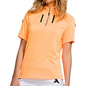 Jamie Sadock Women's Short Sleeve ¼ Zip Golf Top