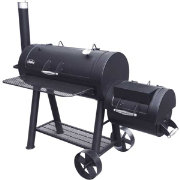Big Horn Heavy-Gauge Horizontal Smoker