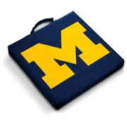 Michigan Wolverines Bleacher Cushion