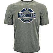 Levelwear Men's Nashville SC Logo Heather Grey T-Shirt