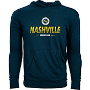 Levelwear Men's Nashville SC Armstrong Navy Heathered Pullover Hoodie