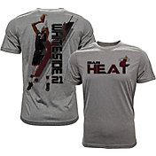 Levelwear Men's Miami Heat Hassan Whiteside Breakaway Grey T-Shirt