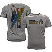 Levelwear Men's Denver Nuggets Nikola Jokic Breakaway Grey T-Shirt
