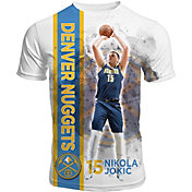 Levelwear Men's Denver Nuggets Nikola Jokic Breakaway White T-Shirt