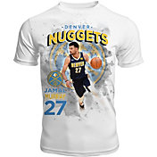 Levelwear Men's Denver Nuggets Jamal Murray Center Court White T-Shirt