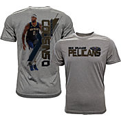 Levelwear Men's New Orleans Pelicans DeMarcus Cousins Breakaway Grey T-Shirt