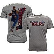 Levelwear Men's Philadelphia 76ers Ben Simmons Breakaway Grey T-Shirt