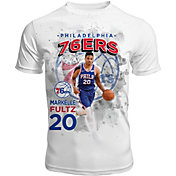 Levelwear Men's Philadelphia 76ers Markelle Fultz Center Court White T-Shirt