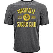 Levelwear Youth Nashville SC Logo Heather Grey T-Shirt