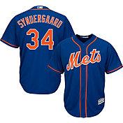Majestic Boys' Replica New York Mets Noah Syndergaard #34 Cool Base Alternate Royal Jersey