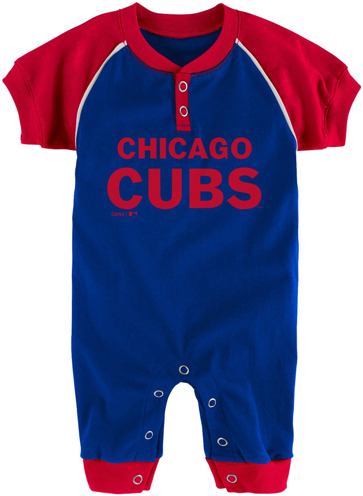 Majestic Newborn Chicago Cubs esie
