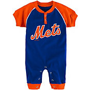 Majestic Newborn New York Mets Onesie