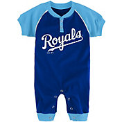 Majestic Newborn Kansas City Royals Onesie