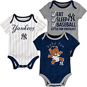 Majestic Infant New York Yankees 3-Piece Onesie Set