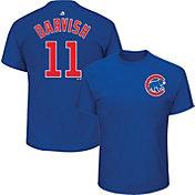 Majestic Men's Chicago Cubs Yu Darvish #11 Royal T-Shirt