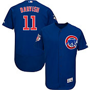 Majestic Men's Authentic Chicago Cubs Yu Darvish #11 Flex Base Alternate Royal On-Field Jersey