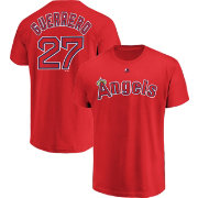Majestic Men's Los Angeles Angels Vladimir Guerrero #27 Red T-Shirt