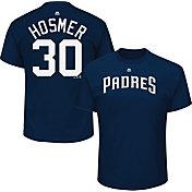 Majestic Men's San Diego Padres Eric Hosmer #30 Navy T-Shirt