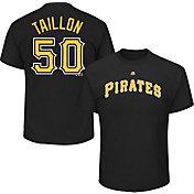 Majestic Men's Pittsburgh Pirates Jameson Taillon #50 Black T-Shirt