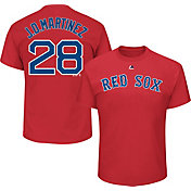 Majestic Men's Boston Red Sox J.D. Martinez #28 Red T-Shirt